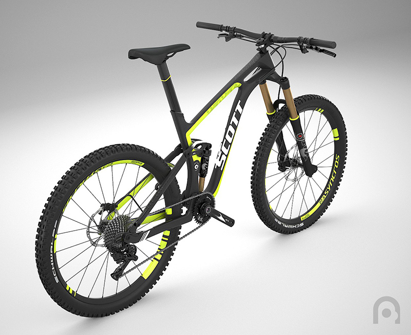 Vtt Scott bike